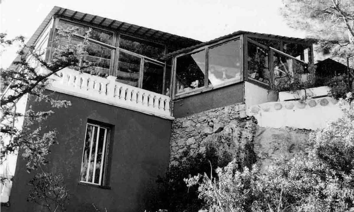 Κήπος ΝΥΚΤΕΡΙΔΑΣ (κάτω όψη), 1980 / NYKTERIDA's garden (bottom view), 1980