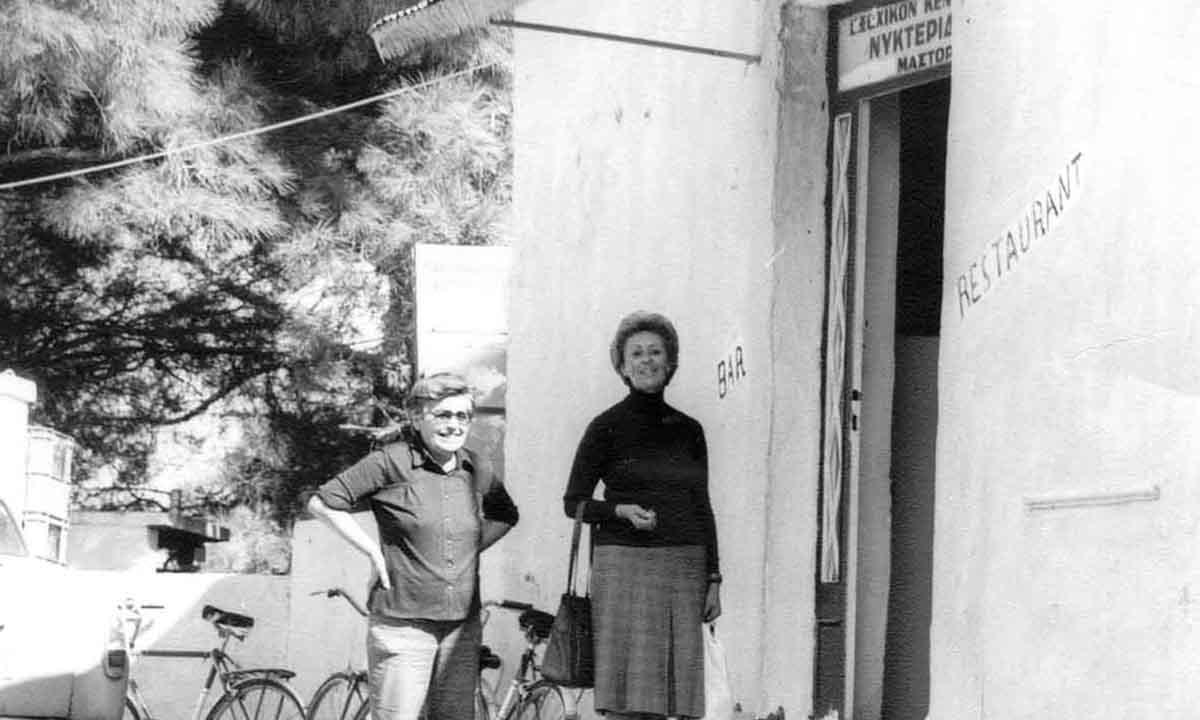 Είσοδος ΝΥΚΤΕΡΙΔΑΣ, 1979 / NYKTERIDA's entrance, 1979